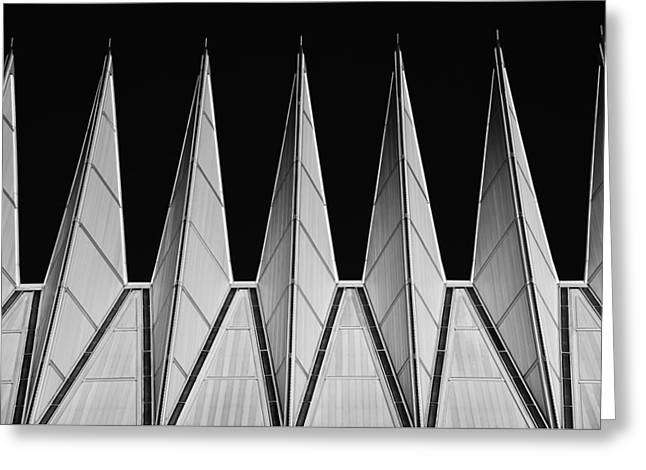 U. S. A. F. Academy Cadet Chapel Detail Greeting Card