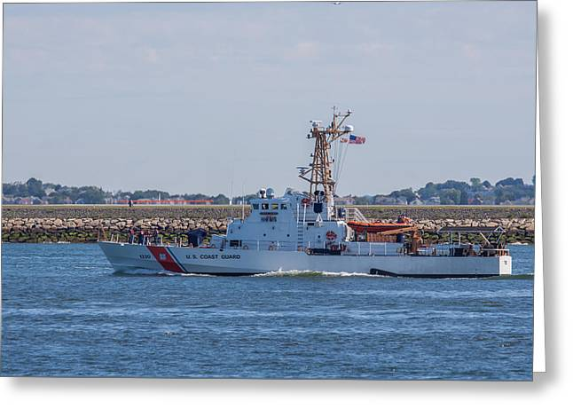 Uscgc Tybee Wpb 1330 Greeting Card by Brian MacLean