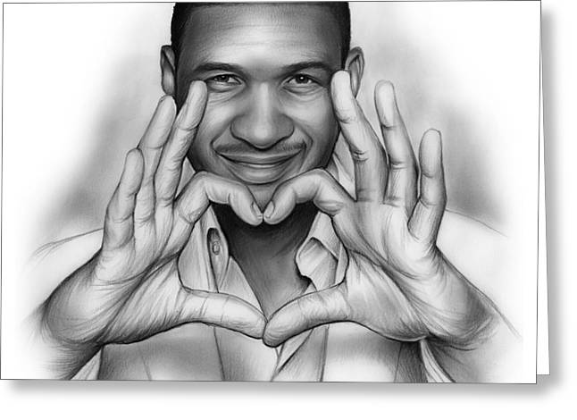 Usher Greeting Card