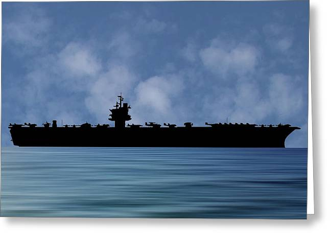 Uss Enterprise 1960 V1 Greeting Card