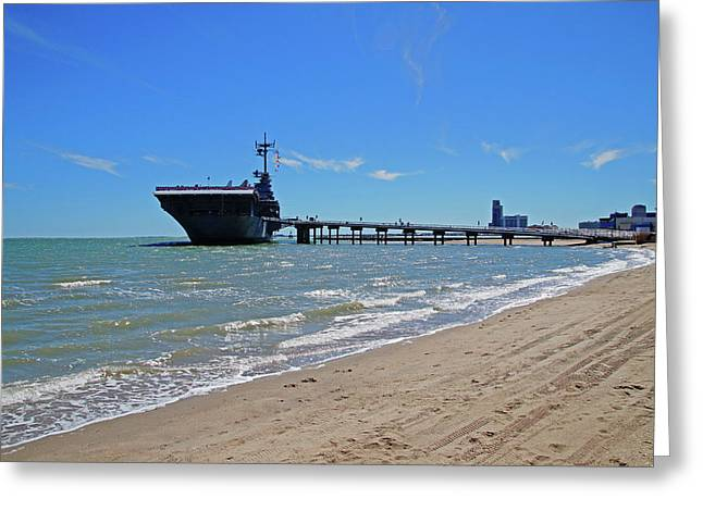 Uss Lexington Greeting Card