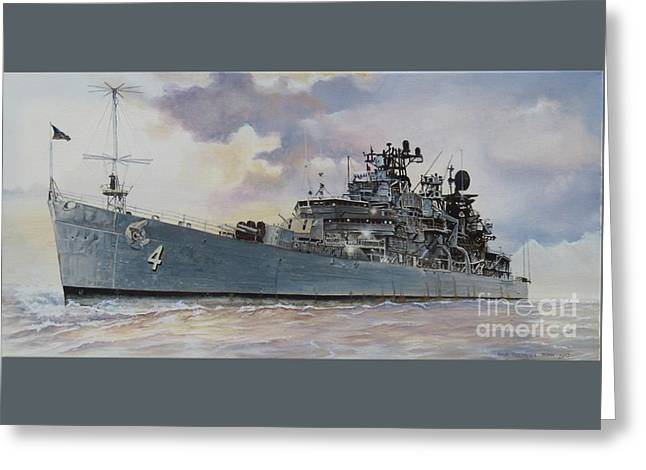 Uss Little Rock Greeting Card