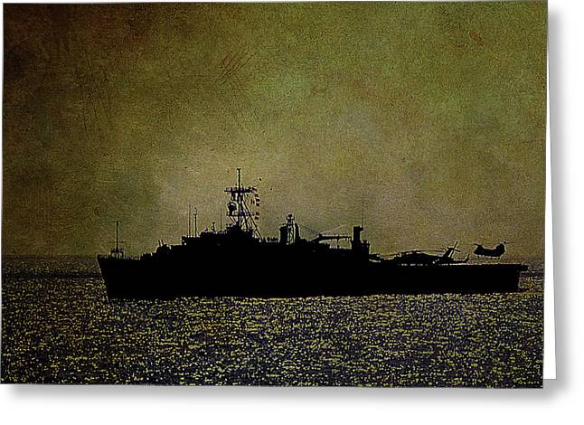 Uss Ponce Lpd-15 Greeting Card