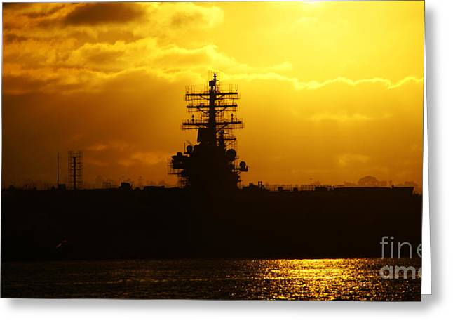 Uss Ronald Reagan Greeting Card