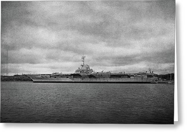 Greeting Card featuring the photograph Uss Yorktown by Sandy Keeton