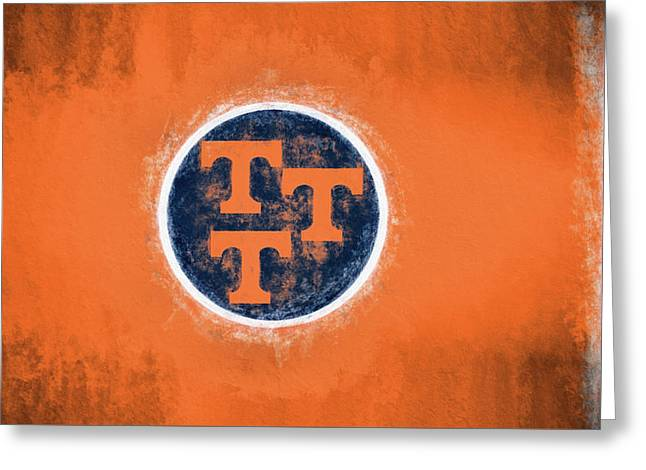 Ut Tennessee Flag Greeting Card