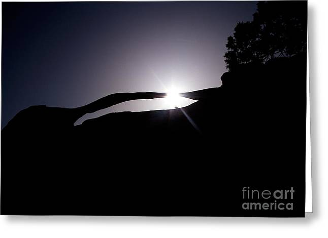 Utah - Landscape Arch Greeting Card
