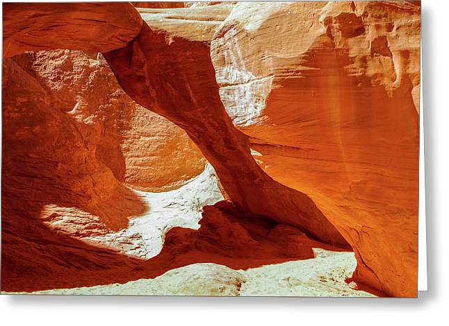 Greeting Card featuring the photograph Utah Arches by Jim Mathis