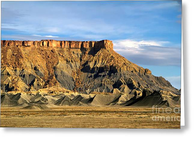 Utah Butte Greeting Card