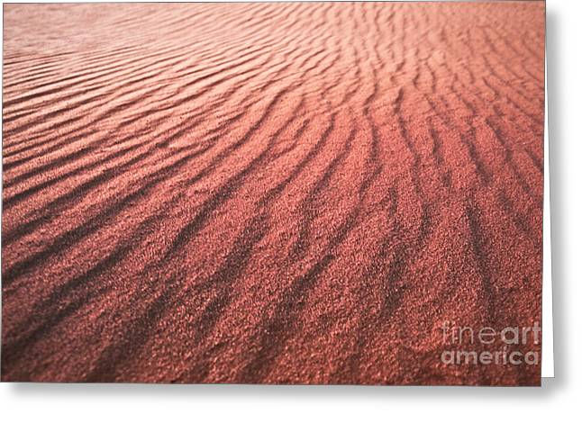 Utah Coral Pink Sand Dunes Greeting Card by Ryan Kelly