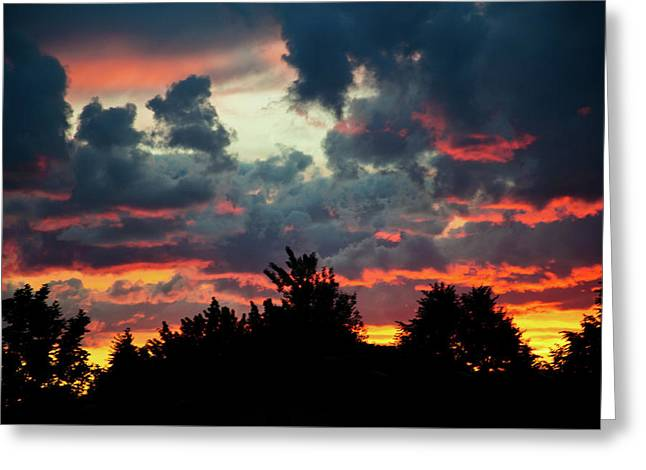 Utah Sunset Greeting Card