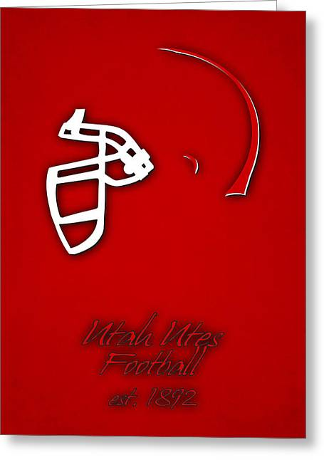 Utah Utes Greeting Card by Joe Hamilton