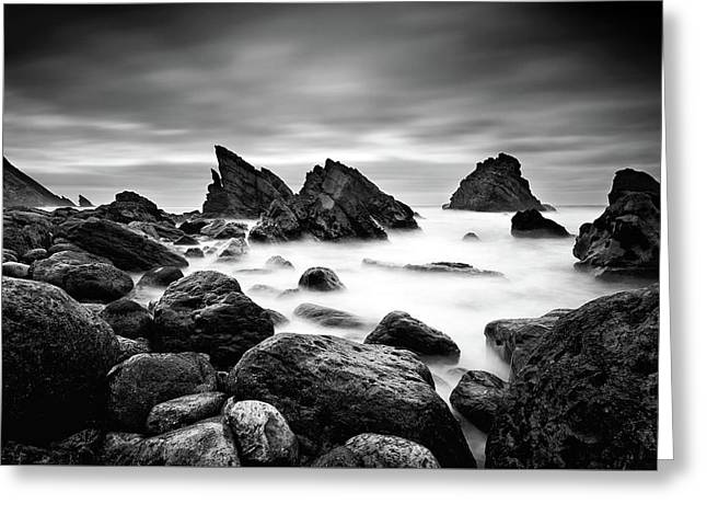 Utopia Greeting Card by Jorge Maia