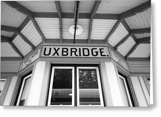 Uxbridge Station Greeting Card