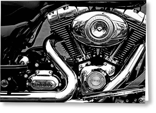 V Twin Greeting Card