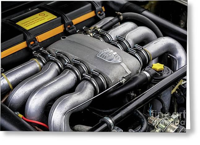V8 Porsche Greeting Card