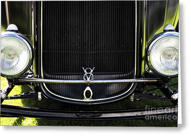 V8 Greeting Card by Tim Gainey