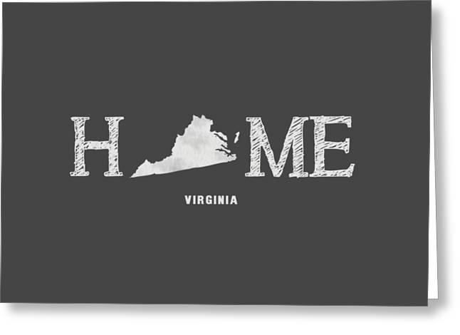 Va Home Greeting Card by Nancy Ingersoll