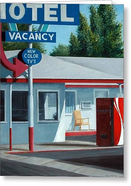 Vacancy Greeting Card by Robert Smith