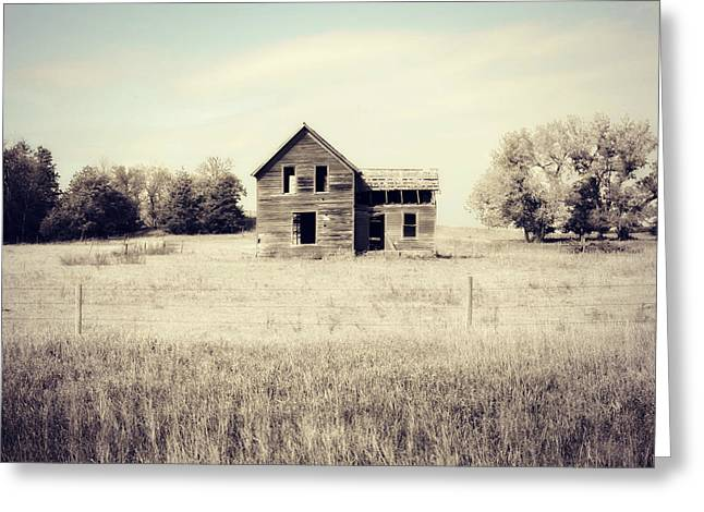 Vacant Home Greeting Card by Julie Hamilton