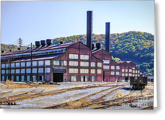 Vacant Steel Mill - Johnstown Pa Greeting Card