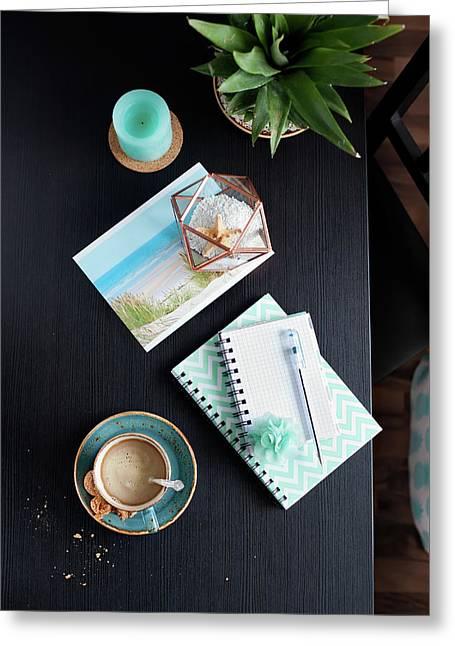 Vacation Plans By Svetlana Imagineisle Svphoto Greeting Card