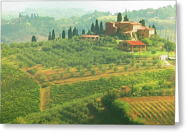 Val D'orcia Jewel Of Tuscany Greeting Card