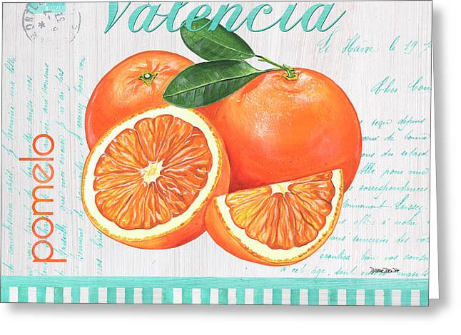 Valencia 1 Greeting Card by Debbie DeWitt