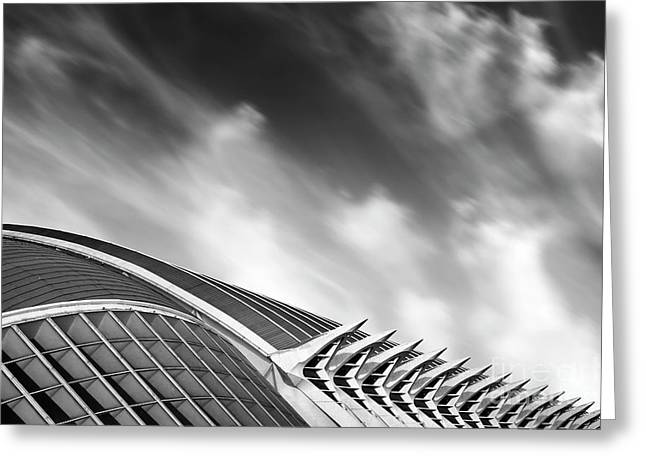 Valencia 1 Greeting Card by Rod McLean