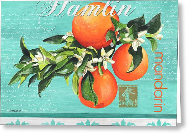 Valencia 2 Greeting Card by Debbie DeWitt