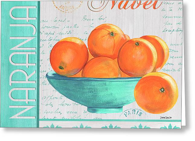 Valencia 3 Greeting Card by Debbie DeWitt