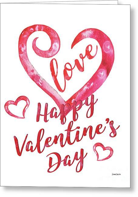 Valentine Greeting Card by Debbie DeWitt