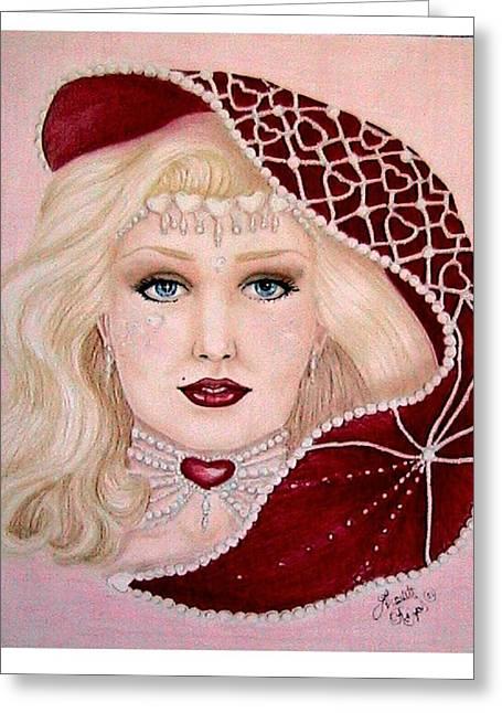 Valentine Greeting Card by Scarlett Royal