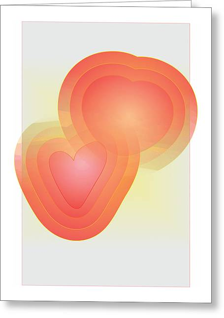 Greeting Card featuring the digital art Valentine by Sherril Porter