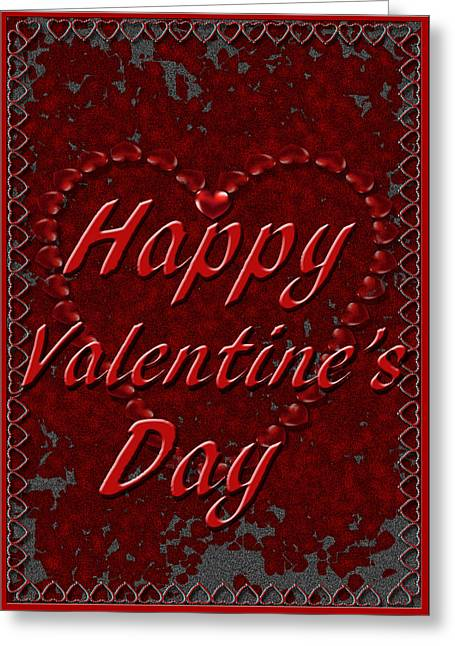 Greeting Card featuring the digital art Valentine3 by Michelle Audas