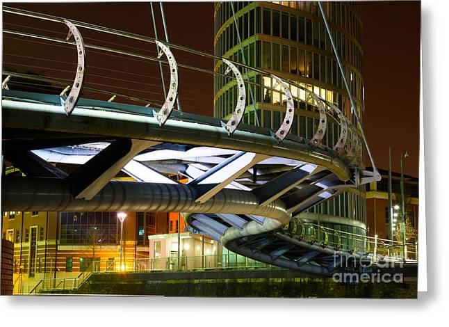 Valentines Bridge, Bristol Greeting Card