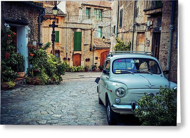 Valldemossa - Majorca Greeting Card by Alexander Voss