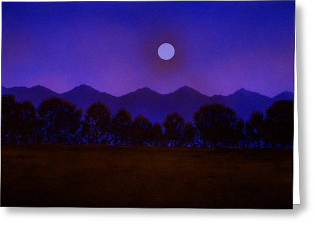 Valley Light Greeting Card by Frank Wilson