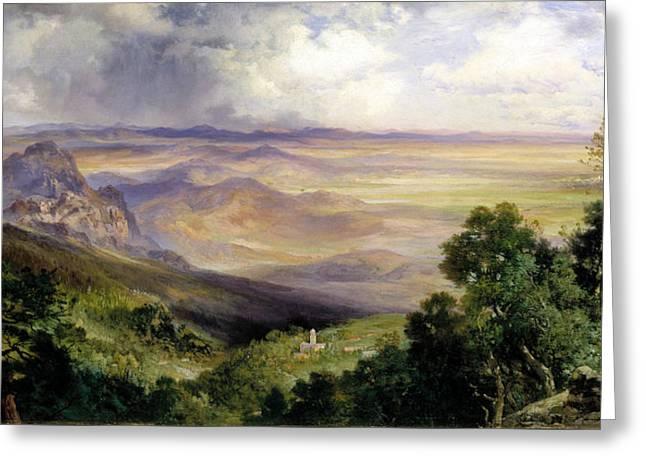 Valley Of Cuernavaca Greeting Card