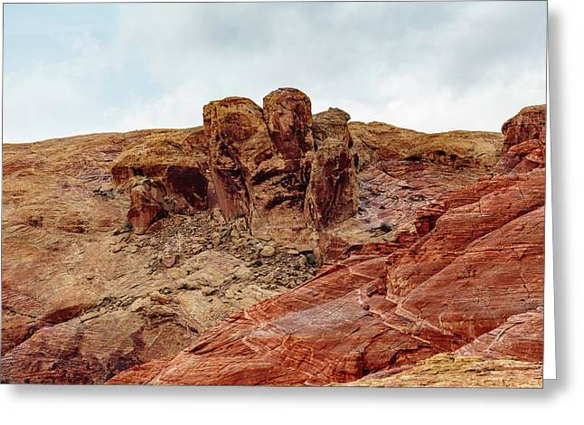 Valley Of Fire Formations Greeting Card