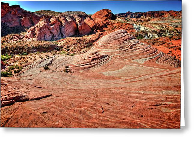 Valley Of Fire State Park Nevada Greeting Card by James Hammond