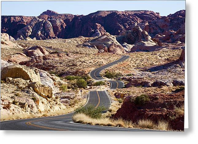 Valley Road Greeting Card