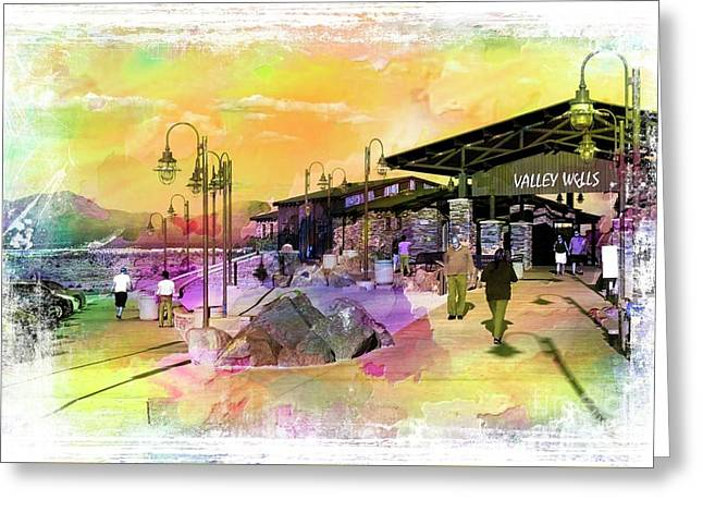 Valley Wells California Greeting Card
