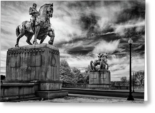 Valor Greeting Card by Paul Seymour