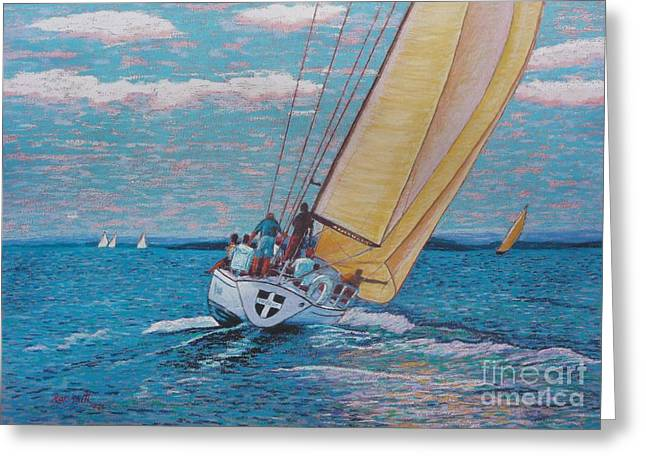 Valour -chester Race Week Greeting Card