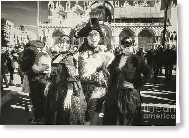 Vampires Of Venice Greeting Card
