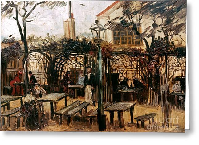Van Gogh: Guingette, 1886 Greeting Card by Granger