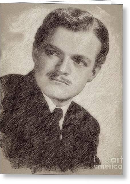 Van Heflin, Actor Greeting Card