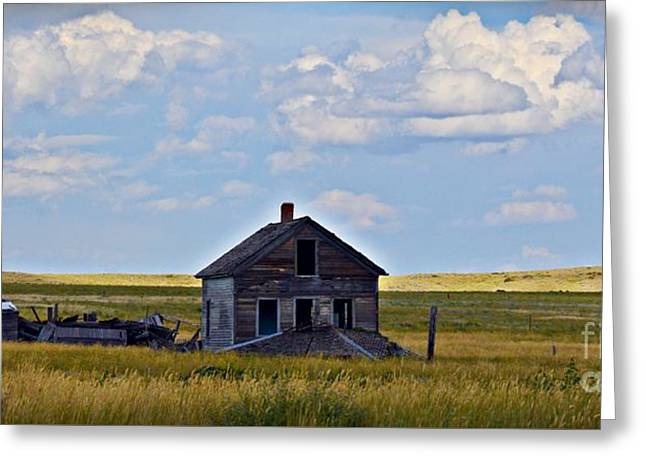 Vananda Homestead Greeting Card by Chalet Roome-Rigdon