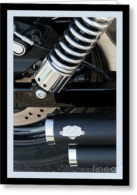 Greeting Card featuring the photograph Vance And Hines by Wendy Wilton